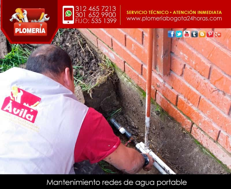 redes agua potable