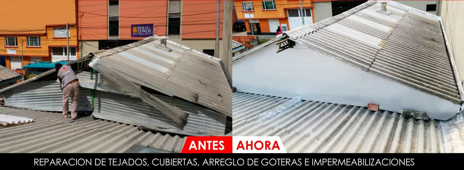 Instalaci n de tejas pl sticas o eternil acusticas tejados - Cubiertas de tejados ...