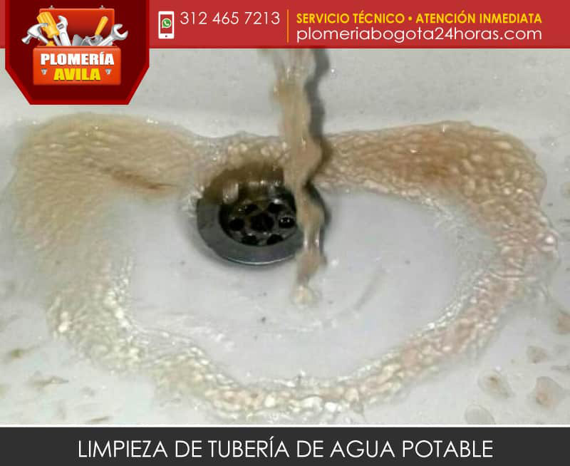 Limpieza interna de tuber a de agua potable - Tuberia agua potable ...