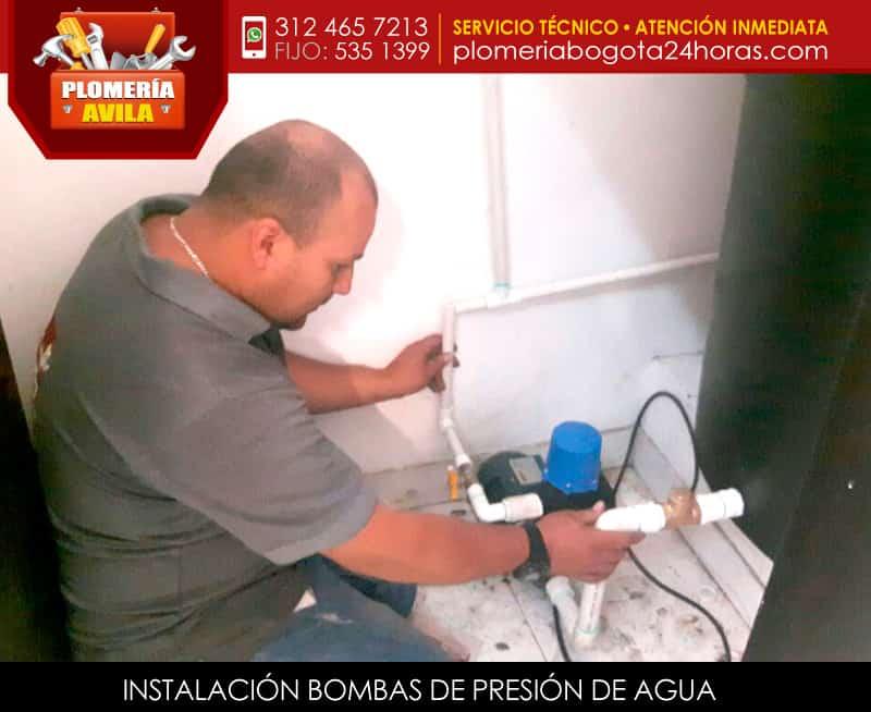 Instalaci n bombas de presi n de agua aumento de presi n - Bombas de achique de agua ...