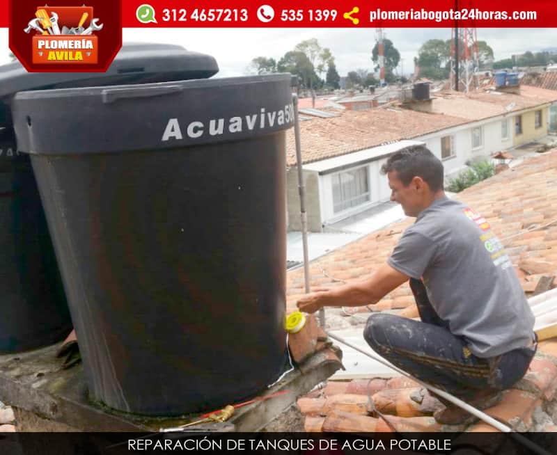 Instalaci n de tanques de agua potable tel 5351399 bogot for Como fabricar tanques de agua para rusticos