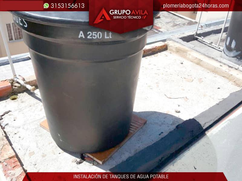 Mantenimiento de tanques de agua potable bogot for Como fabricar tanques de agua para rusticos