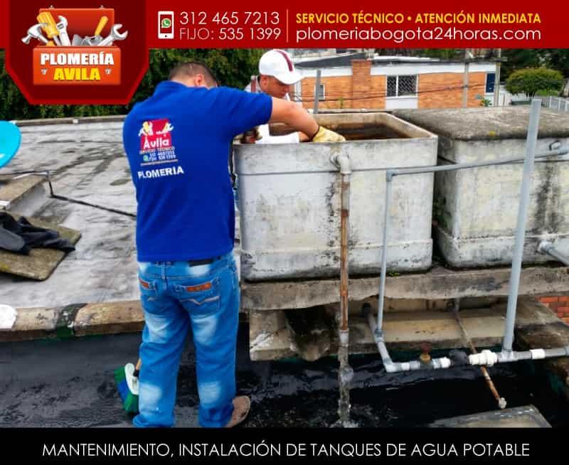 Instalaci n de tanques de agua potable tel 5351399 bogot for Tanque hidroneumatico para agua