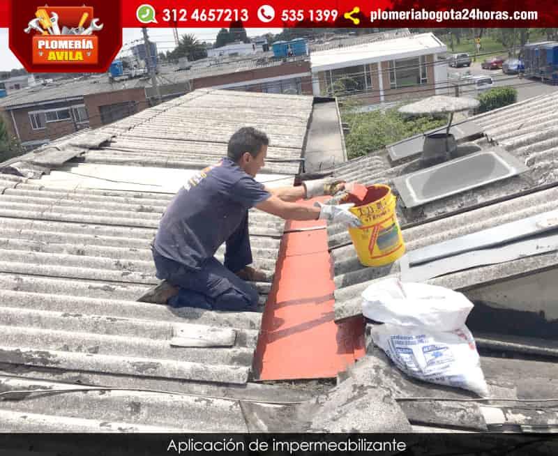 Reparaci n de cubiertas mantenimiento arreglo de goteras - Impermeabilizacion de tejados ...