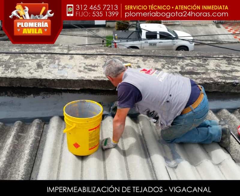 Instalaci n de tejas en bogota servicio de reparaci n de tejas - Impermeabilizacion de tejados ...