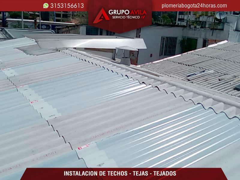 Reparación de tejados y goteras o filtraciones Bogotá